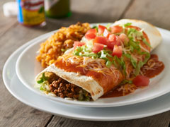 Mexican Night: Burrito
